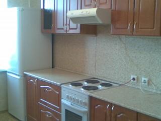 Кухонный гарнитур.Фасады МДФ в ПВХ плёнке(стандартная фрезеровка).