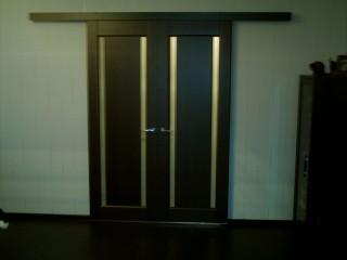 Межкомнатные раздвижные двери.